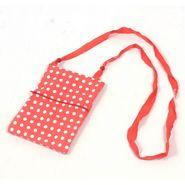 Glitz  Cotton Sling Bag GLCSB004RED - Red