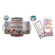Shaildha Birthday Special 350 Ml Coffee Mug With Chocolate Bar - 12391188