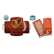 Shaildha Birthday Special 350 Ml Coffee Mug With Chocolate Bar - 12391196