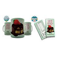 Shaildha Birthday Special 350 Ml Coffee Mug With Chocolate Bar - 12391198