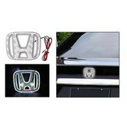 HONDA Emblem Logo Badge Car Light - White