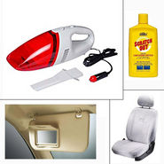 Combo of 4 Accessories for Hatchback Cars