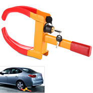 Heavy Duty Anti Theft Wheel Clamp with Lock