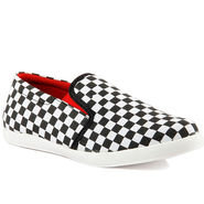 Canvas Red Casual Shoes -bn29
