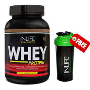 INLIFE Whey Protein 2Lb (908g) Cookies and Cream Flavour
