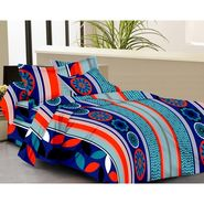 IWS Designer Cotton Printed Double Bedsheet with 2 Pillow cover- IWS-CB-34