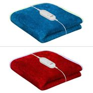 Set of 2 Warmland Electric Single Bed Blanket-Red & Blue-IWS-EB-01_05