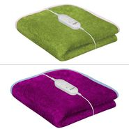 Set of 2 Warmland Electric Single Bed Blanket-Pink & Green-IWS-EB-03_04