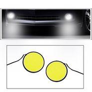 AutoSun® COB 2pc Car DRL Fog Lamp LED Light Stick-On