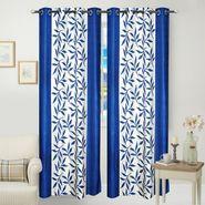 JBG Home Store Set of 2 Beautiful Design Door Curtains-JBG904_1BKD
