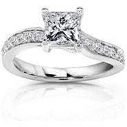 Kiara Swarovski Signity Sterling Silver Sadhana Ring_Kir0701 - Silver