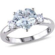 Kiara Swarovski Signity Sterling Silver Swara Ring_Kir0780 - Silver