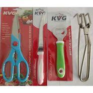 KVG Utility Combo-No 13, Set Of 4, Lifter, 1 Scissor, 1 Bottle Opener, 1 Tomato Knife