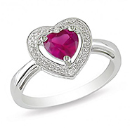 Kiara Swarovski Zirconia Sterling Silver Ring - Pink - KIR0329