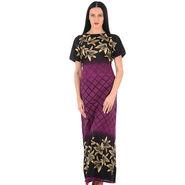 Klamotten Cotton Block Print Nightwear - Multicolor - YY205