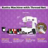 Kuttu Machine with Thread Set