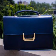 Arisha Women Handbag Blue -Lb238