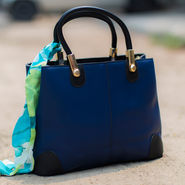 Arisha Women Handbag Blue -Lb261