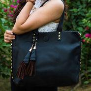 Arisha Black Handbag -LB 381