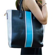 Sai Arisha PU Black Handbag -LB401