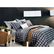 Lakshaya 100% Cotton Double Bedsheet With 2 Pillow Covers-LE-007