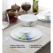 La Opala  Diva Royal Iris 19 Pcs Dinner Set_LE-LAOP-009