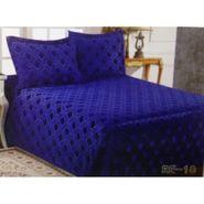Velvet Double Bedsheet With 2 Pillow Cover-LE-VELV-004