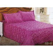 Velvet Double Bedsheet With 2 Pillow Cover-LE-VELV-006