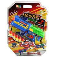 DealBindaas Toy Gun Foam Shoot Blister Pack
