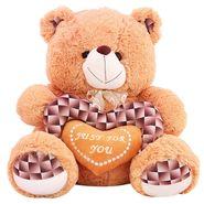 Valentine stuff Woody Teddy Bear 40 Cms - Brown