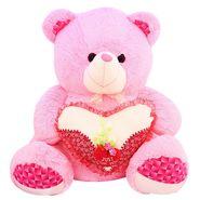 Valentine Stuff Heart Teddy Bear 60 Cms - Pink