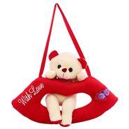 Lip Cute Bear Valentine Stuff Teddy Snow