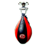Liana Leather Speed Ball - Red & Black