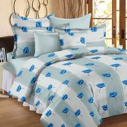 Storyathome 100% Cotton Double Bedsheet With 2 Pillow Cover-MP1211