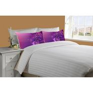 Mesleep White Double Bed Sheet With 2 Pillow Covers- SS-Pillow-02-33