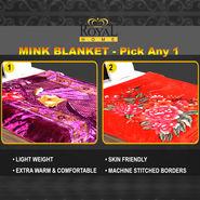 Mink Blanket - Pick Any 1