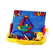Mitashi Jumbo Magnetic Doodle Board, Scribble & Stick