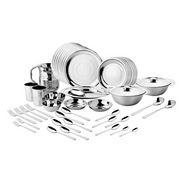Mosaic 91 Pcs Dinning Set - Silver