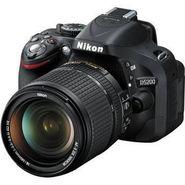 Nikon D5200 24.1MP Digital SLR Camera With 18-140mm VR Kit Lens - Black