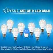 Set of 9 LED Bulbs
