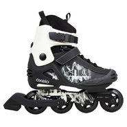 Oxelo Freeride Black Skate Rollers - 6.5 UK