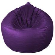 PSYGN Leatherette Sofa Bean Bag Cover -  PBB308-PURPLE-XXXL