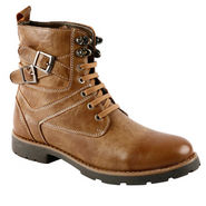 Bacca bucci Genuine Leather  Boots  PS-1030 - Tan