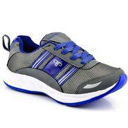 Provogue Mesh Sport Shoes Pv1098-Grey & Blue-40