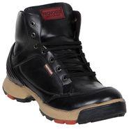 Provogue Black Casual Shoes -yp83