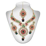 Panini Austrian Diamond Necklace Set - Multicultural _ 2590