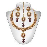 Panini Alloy Necklace Set - Multicolour _ 77
