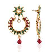Panini Designer Dangle Earrings - Multicolour _ F-182