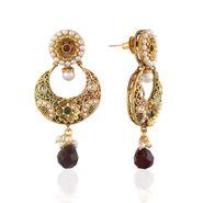 Panini Designer Dangle Earrings - Multicolour _ F-162