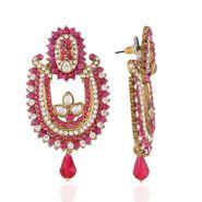 Panini Designer Dangle Earrings - Multicolour _ 2120